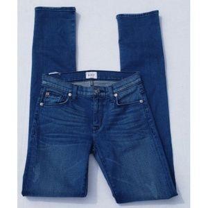 Hudson Tilda Cigarette Midrise Skinny Jeans 24